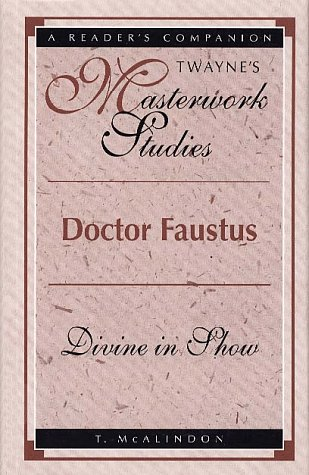 Stock image for Doctor Faustus (Masterwork Studies Series) for sale by Discover Books
