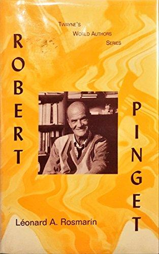 9780805745375: Robert Pinget (Twayne's World Authors Series)