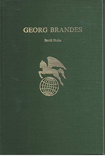 9780805762327: Georg Brandes (World Authors)