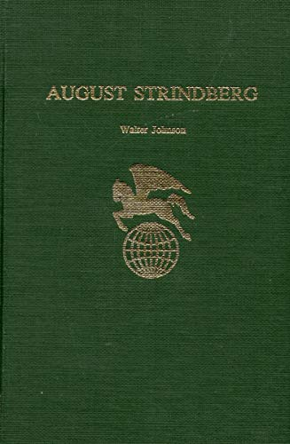 9780805762501: August Strindberg (Twayne's World Authors Series #410)