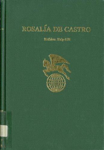 Rosalia De Castro (World Authors): Kulp-Hill, Kathleen