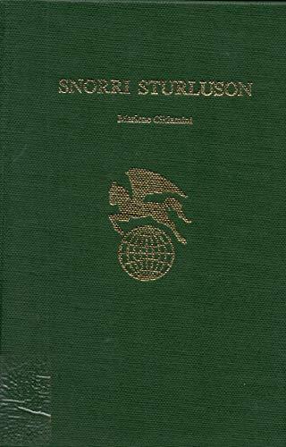 9780805763348: Snorri Sturluson (World Authors)