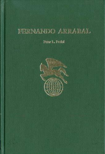 9780805763409: Fernando Arrabal (World Authors)