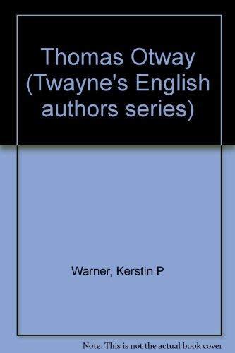 Thomas Otway: Warner, Kerstin P.