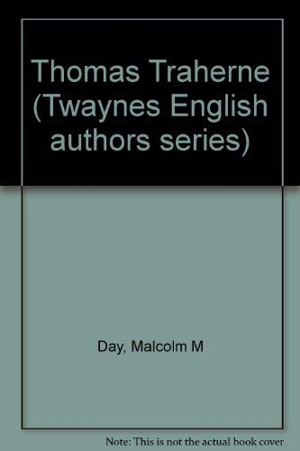 9780805767421: Thomas Traherne (Twayne's English authors series)