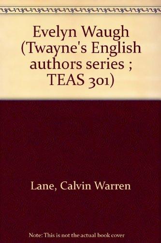 9780805767933: Evelyn Waugh (Twayne's English Authors Series)