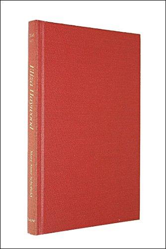 9780805769135: Eliza Haywood (Twayne's English Authors Series)