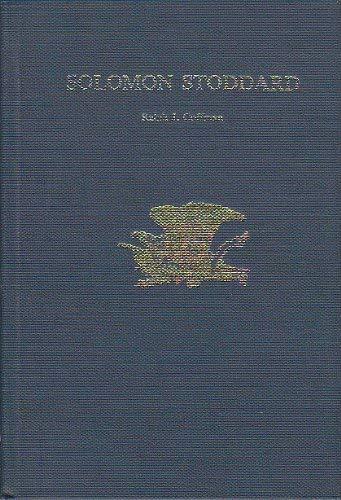 9780805771985: Solomon Stoddard (U.S.Authors)