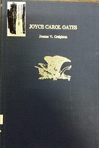 9780805772128: Joyce Carol Oates (Twayne's United States Authors Series ; Tusas 321)
