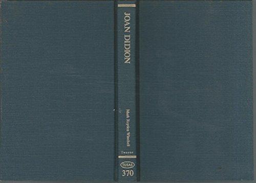 Joan Didion (TUSAS 370): Didion, Joan; Winchell,