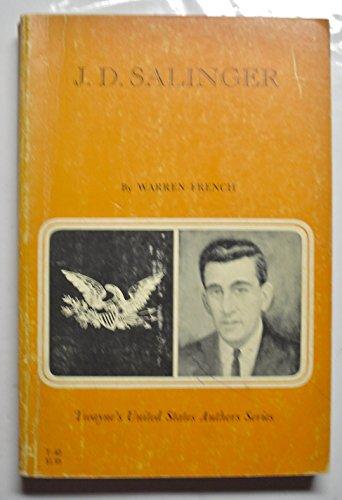 9780805774474: J. D. Salinger (Twayne's United States Authors Seres)