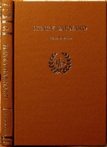 Henry Barnard.: DOWNS, Robert B.