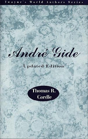 9780805782837: Andre Gide, Updated Edition (World Authors Series)