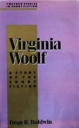 9780805783148: Twayne's Studies in Short Fiction: Virginia Woolf No 6: A Study of the Short Fiction