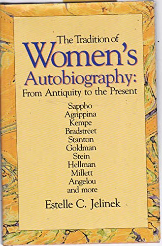 9780805790184: The Tradition of Women's Autobiography: From Antiquity to the Present