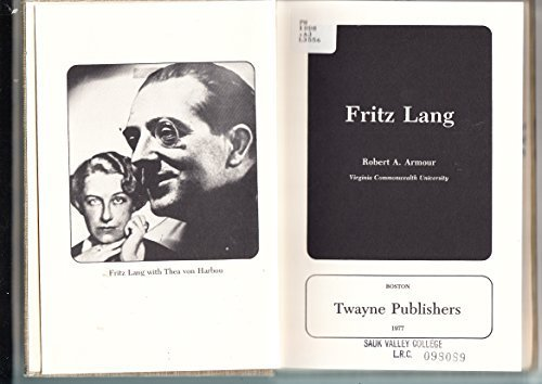 Fritz Lang: Armour, Robert A.