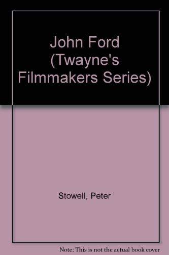9780805793055: John Ford (Twayne's Filmmakers Series)