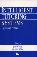 9780805800234: Intelligent Tutoring Systems: Lessons Learned