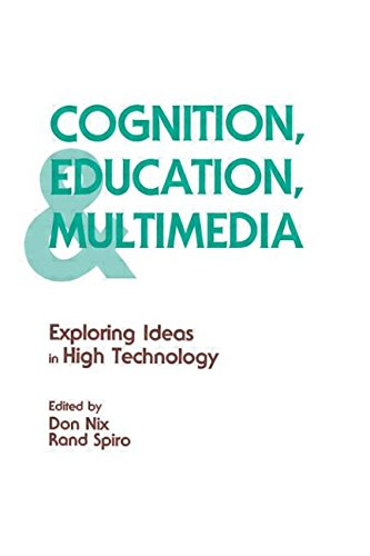 9780805800364: Cognition, Education, and Multimedia: Exploring Ideas in High Technology