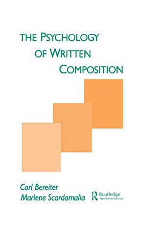 9780805800388: The Psychology of Written Composition (Psychology of Education and Instruction Series)