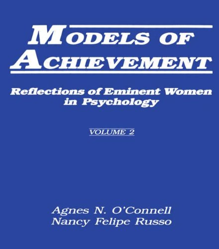 9780805800838: 002: Models of Achievement: Reflections of Eminent Women in Psychology, Volume 2