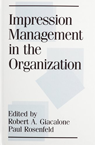 9780805800883: Impression Management in the Organization