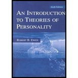 9780805801095: Introduction to Theories of Personality