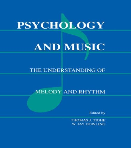 9780805801453: Psychology and Music: The Understanding of Melody and Rhythm