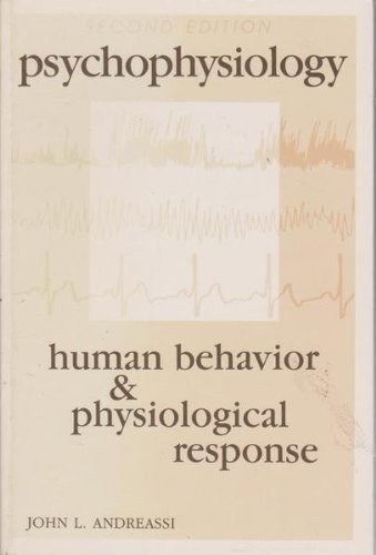 9780805801804: Psychophysiology: Human Behavior and Physiological Response. 2nd Edition (Paper)