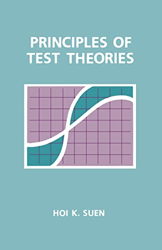9780805801972: Principles of Test Theories