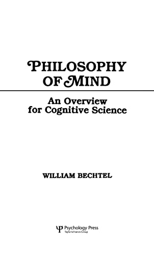 9780805802184: Philosophy of Mind: An Overview for Cognitive Science (Tutorial Essays in Cognitive Science Series)