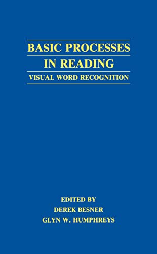 9780805802191: Basic Processes in Reading: Visual Word Recognition