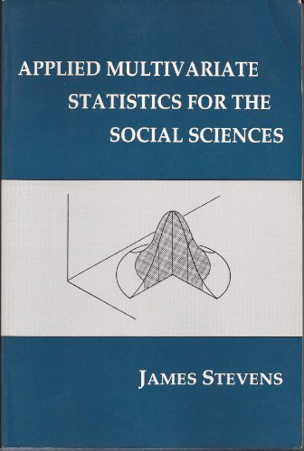 9780805802542: Applied Multivariate Statistics for