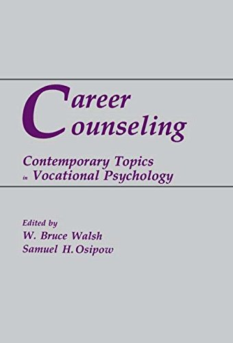 9780805802665: Career Counseling: Contemporary Topics in Vocational Psychology