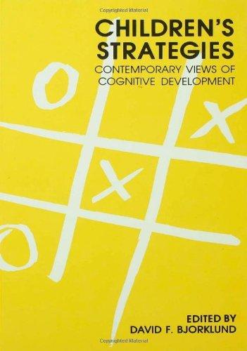 9780805803150: Children's Strategies: Contemporary Views of Cognitive Development