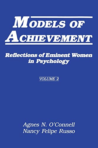 9780805803228: 002: Models of Achievement: Reflections of Eminent Women in Psychology, Volume 2