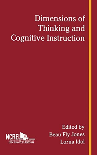 9780805803464: Dimensions of Thinking and Cognitive Instruction