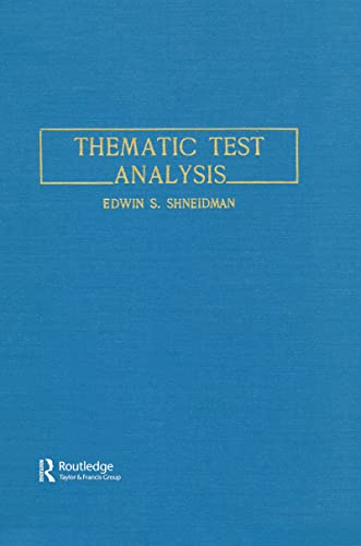 9780805803679: Thematic Test Analysis