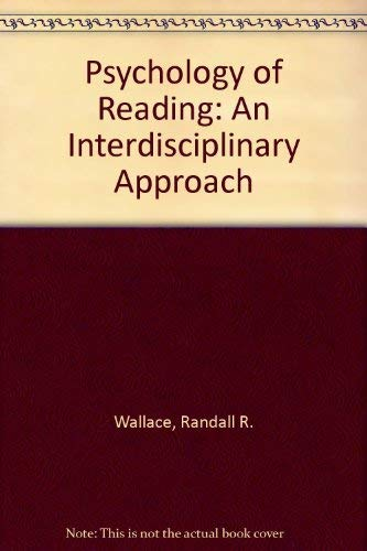 9780805803730: Psychology of Reading: An Interdisciplinary Approach