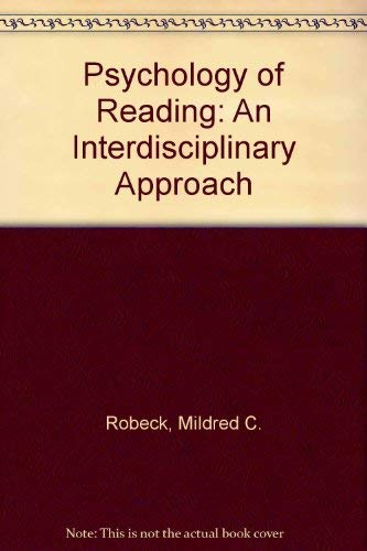 9780805803747: Psychology of Reading: An Interdisciplinary Approach