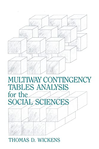 9780805803785: Multiway Contingency Tables Analysis for the Social Sciences