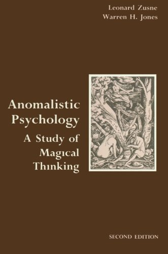 9780805805086: Anomalistic Psychology: A Study of Magical Thinking
