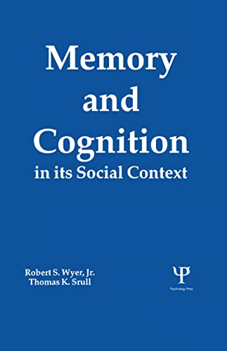 9780805805994: Memory and Cognition in Its Social Context
