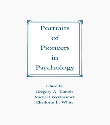 9780805806205: Portraits of Pioneers in Psychology (Portraits of Pioneers in Psychology (Hardcover APA))