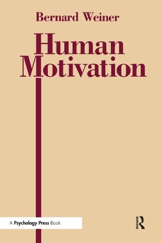 9780805807110: Human Motivation