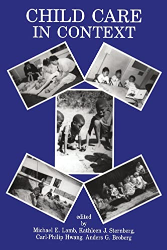 Child Care in Context: Cross-Cultural Perspectives: LAMB Michael E,