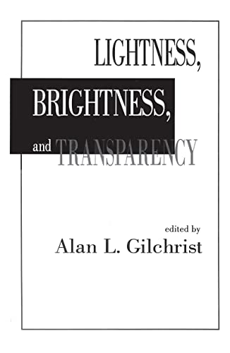 9780805808001: Lightness, Brightness and Transparency