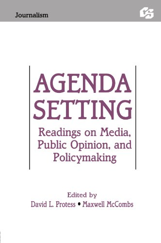 9780805808414: Agenda Setting: Readings on Media, Public Opinion, and Policymaking