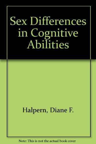 9780805808445: Sex Differences in Cognitive Abilities: 3rd Edition