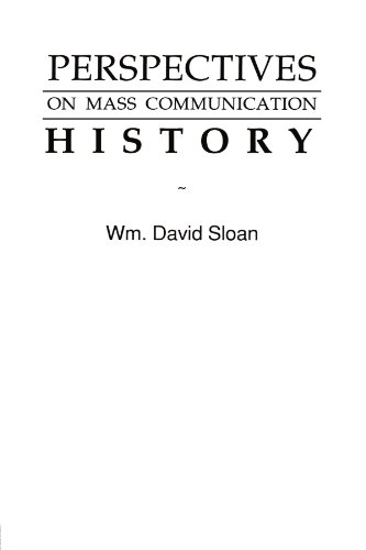 9780805808636: Perspectives on Mass Communication History (Routledge Communication Series)